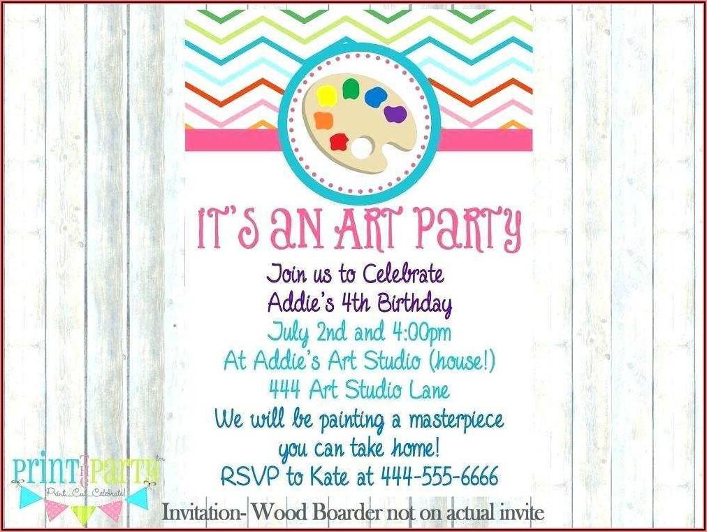 Free Birthday Invitation Design Templates