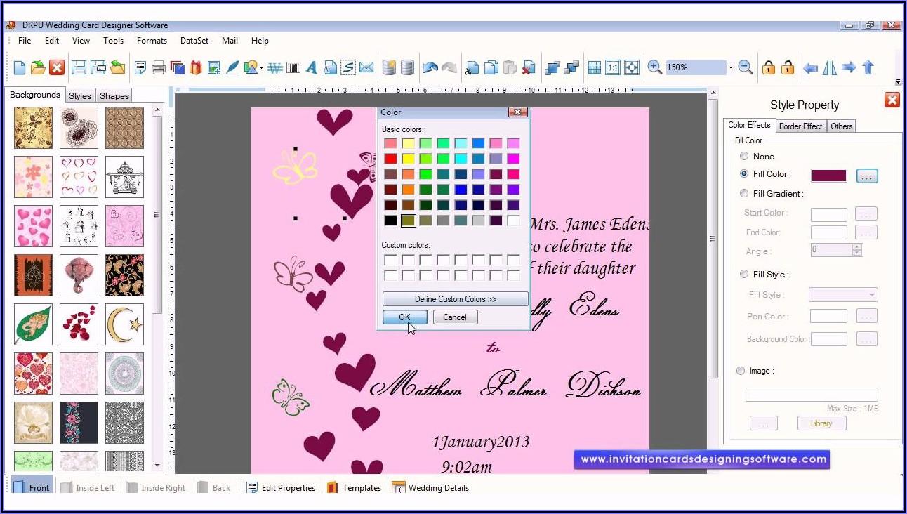 Free Invitation Card Design Software