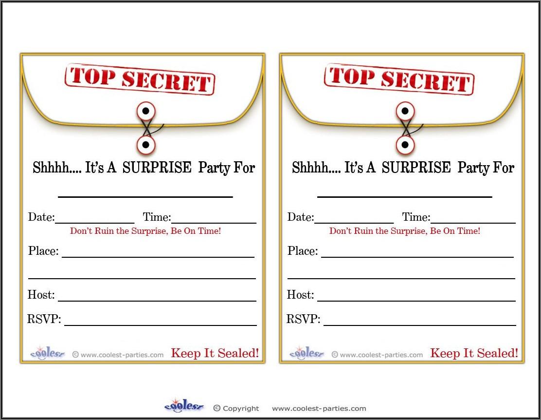 Free Printable 13th Birthday Invitation Templates