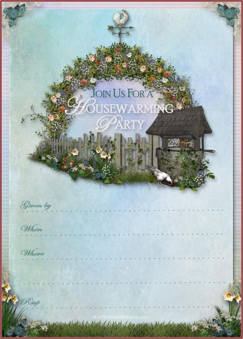 Free Printable Housewarming Invitations Cards
