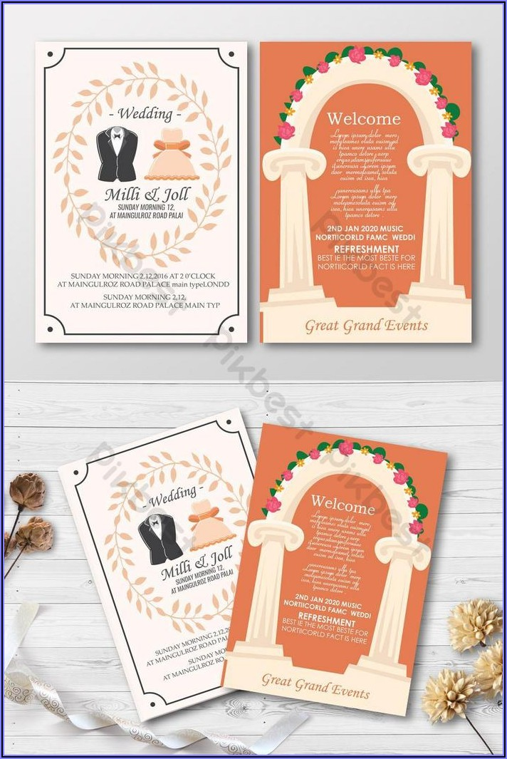 Free Wedding Invitation Card Design
