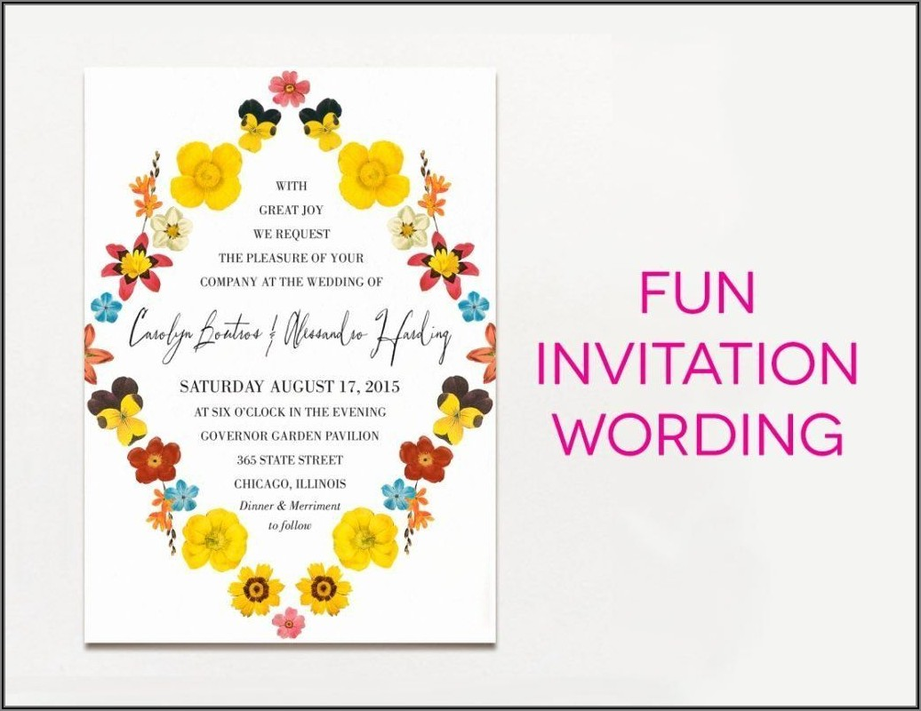 Funny Birthday Dinner Invitation Wording