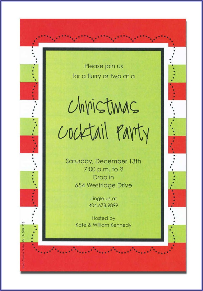 Funny Holiday Potluck Invitation Wording