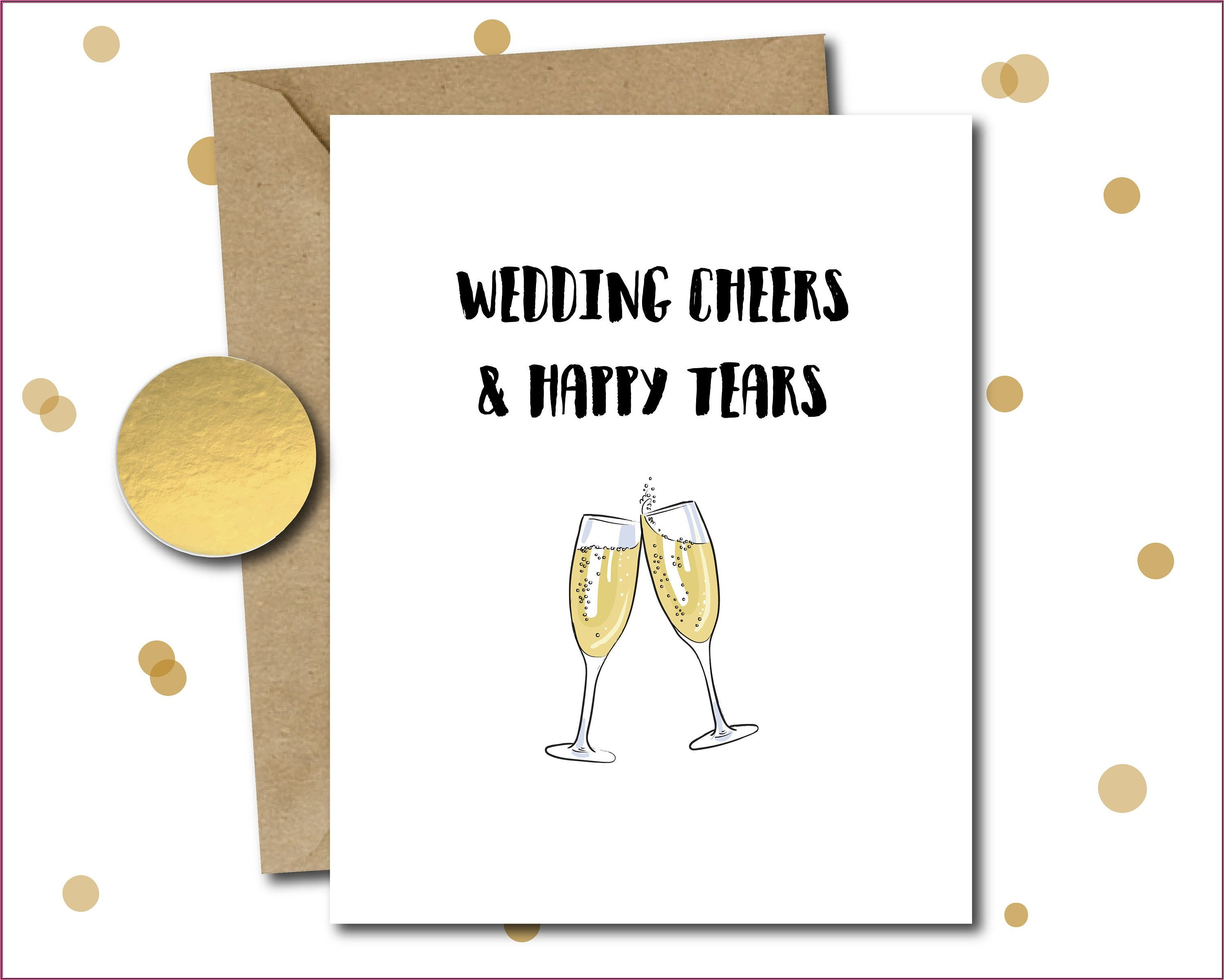 Gay Male Wedding Invitations