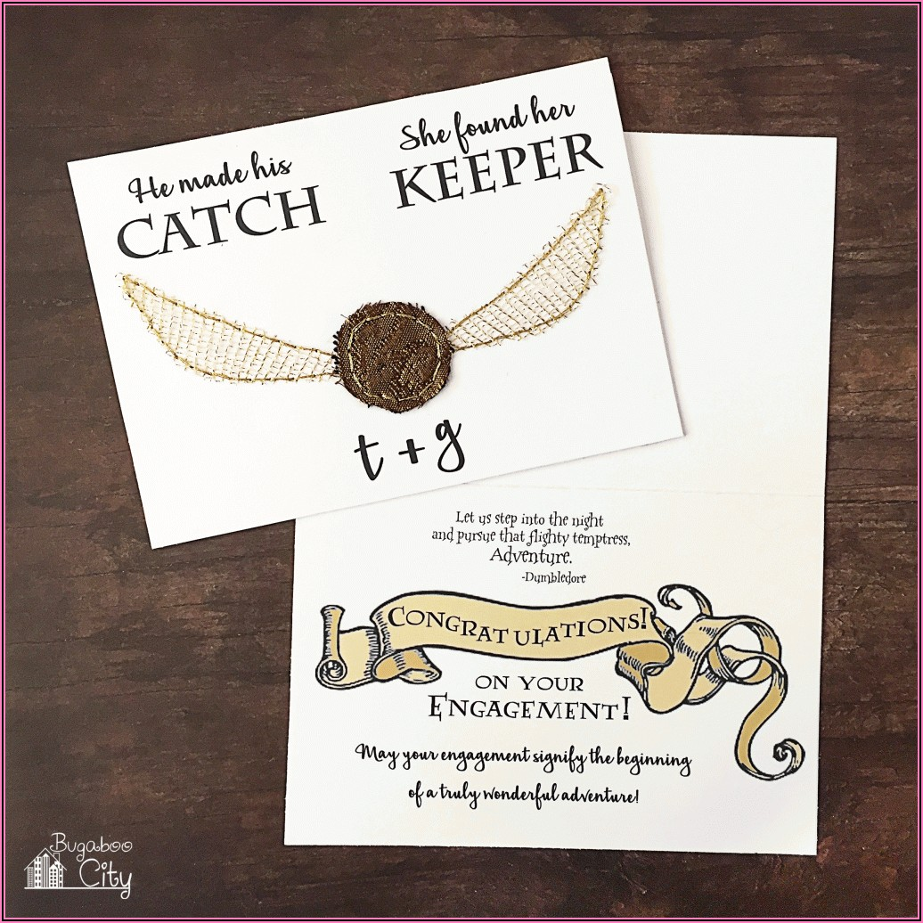 Harry Potter Wedding Invitations Template Free