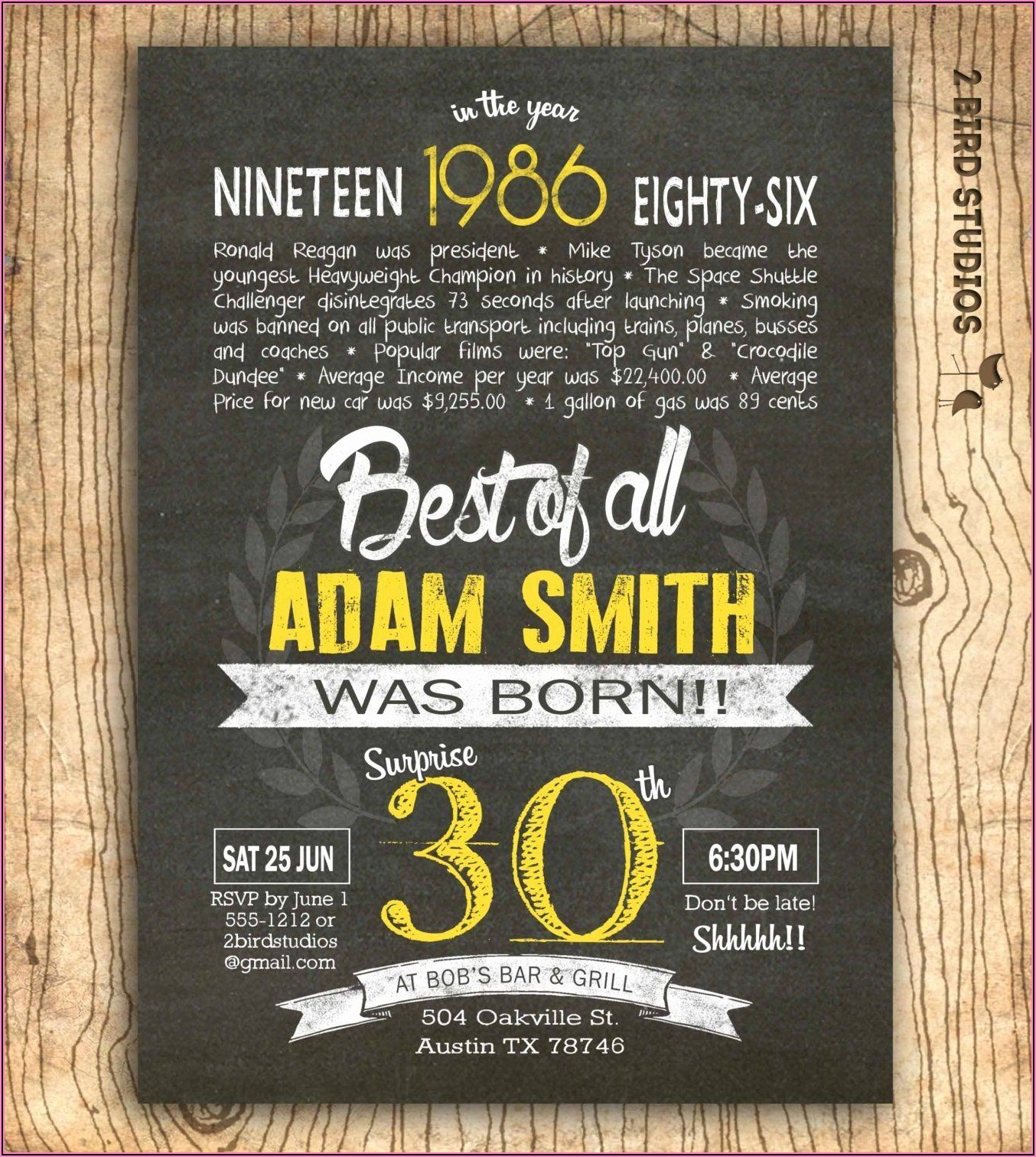 Hilarious Birthday Invitation Wording For Adults