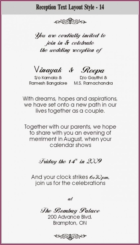 Hindu Wedding Invitation Card Wordings In English