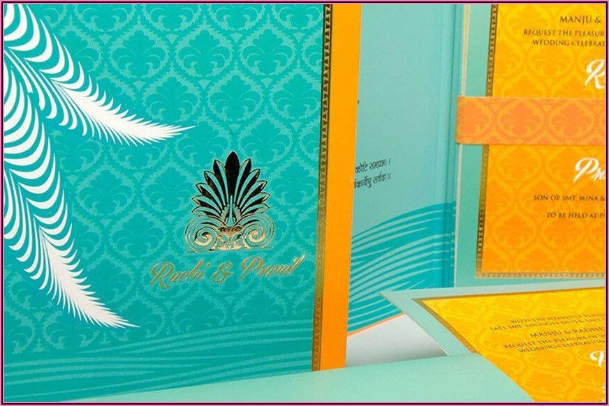 Hindu Wedding Invitation Cards Online