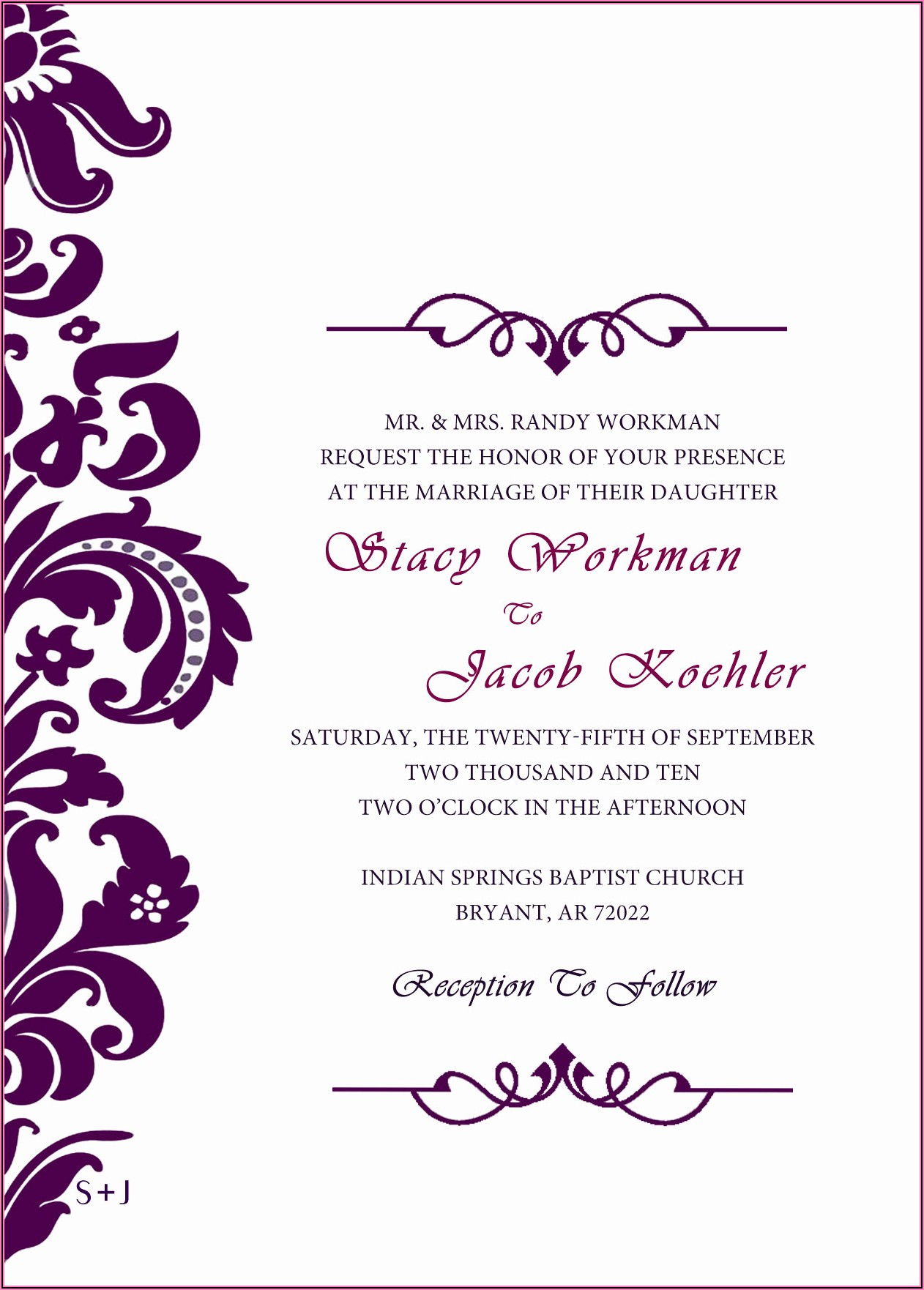 Hindu Wedding Invitation Templates Psd