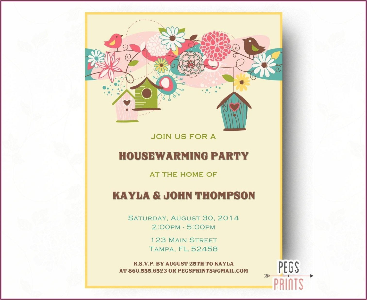 Housewarming Invitation Template Indian Free