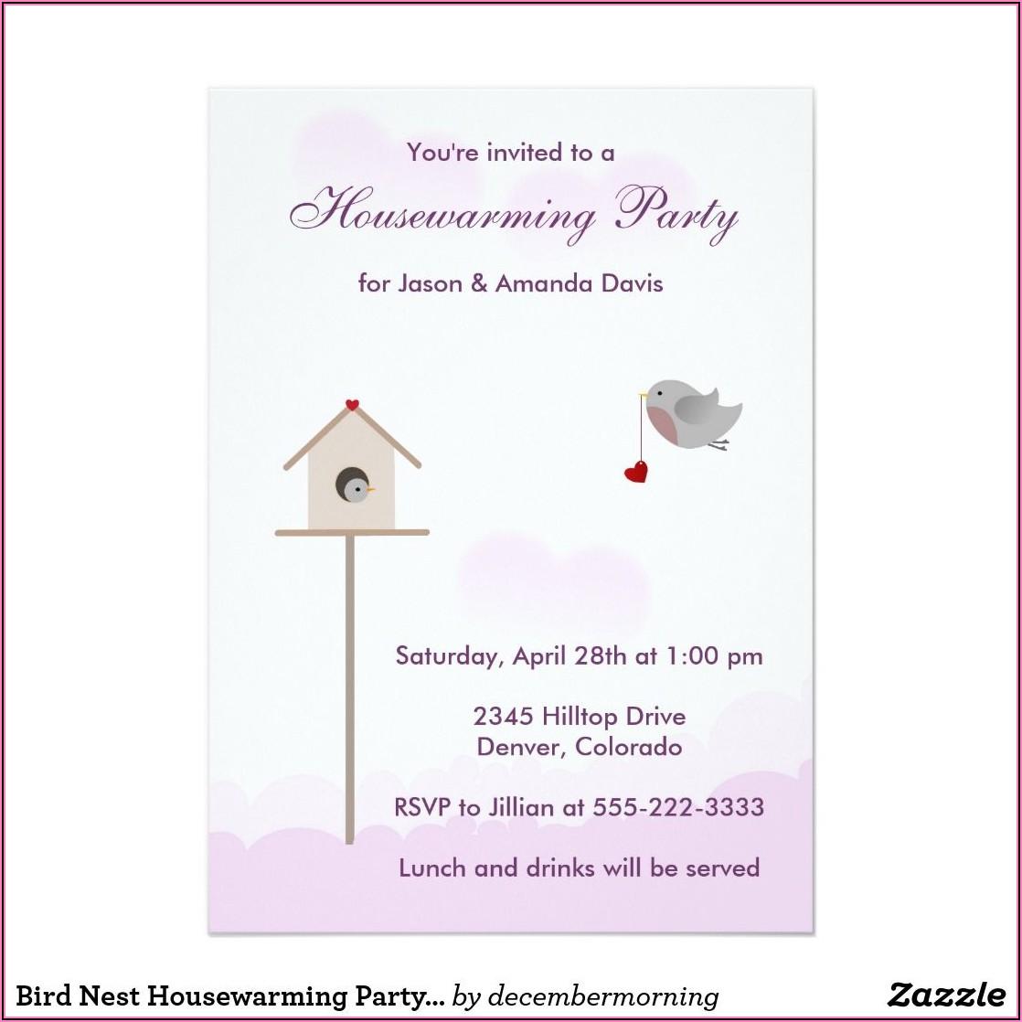 Housewarming Party Invitation Card Ideas