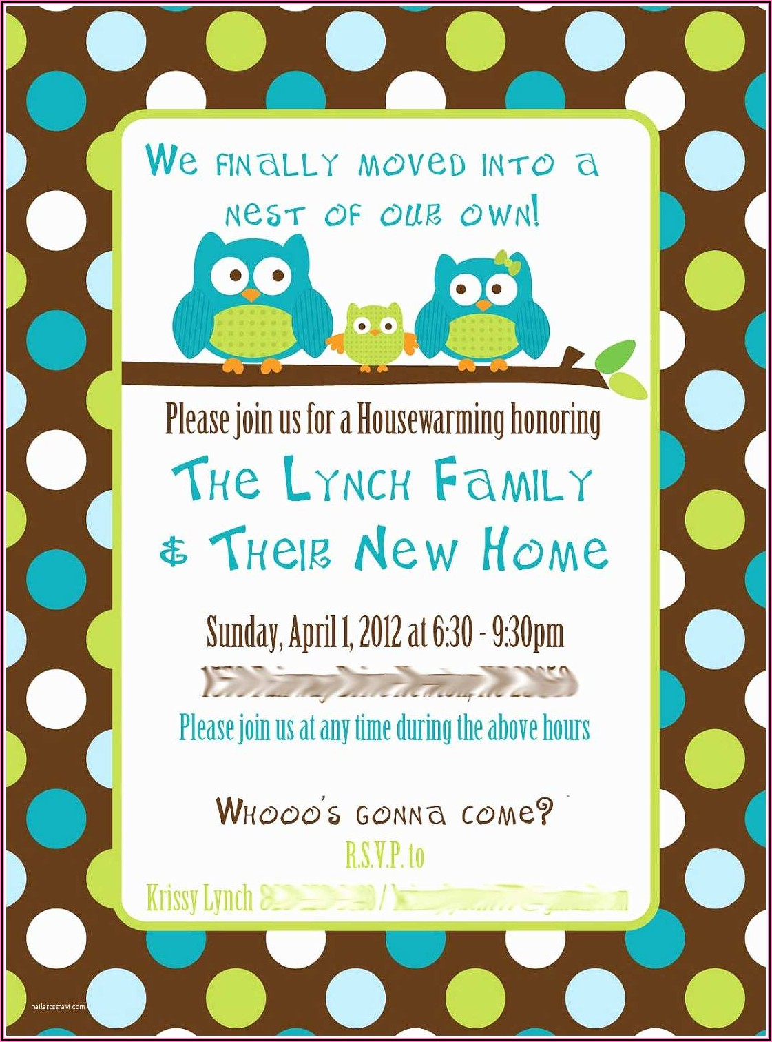 Housewarming Party Invitations Wording Free