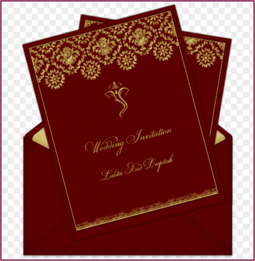 Indian Wedding Invitation Background Design Hd