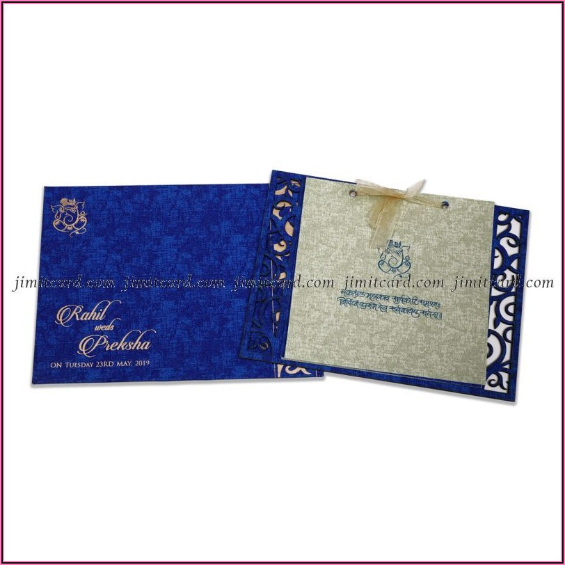 Indian Wedding Invitation Cards Designs With Price