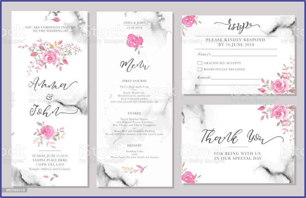 Invitation Card Border Templates Free Download