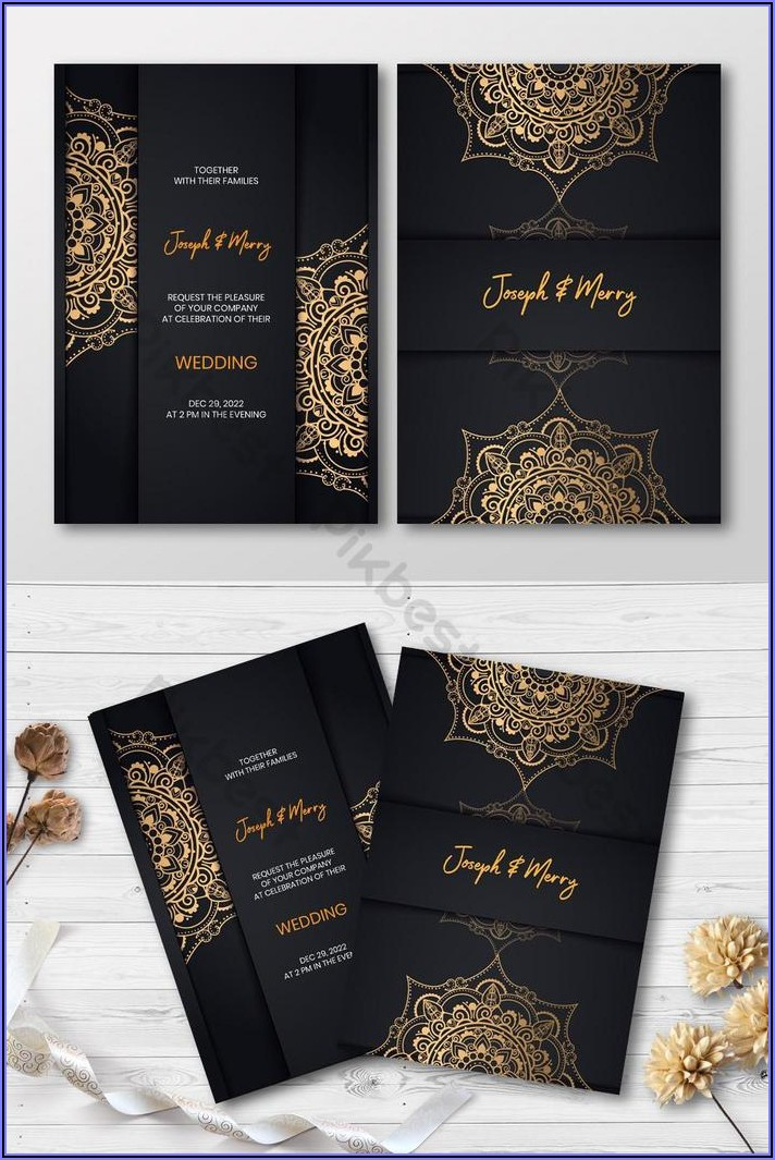 Invitation Card Design Free Download
