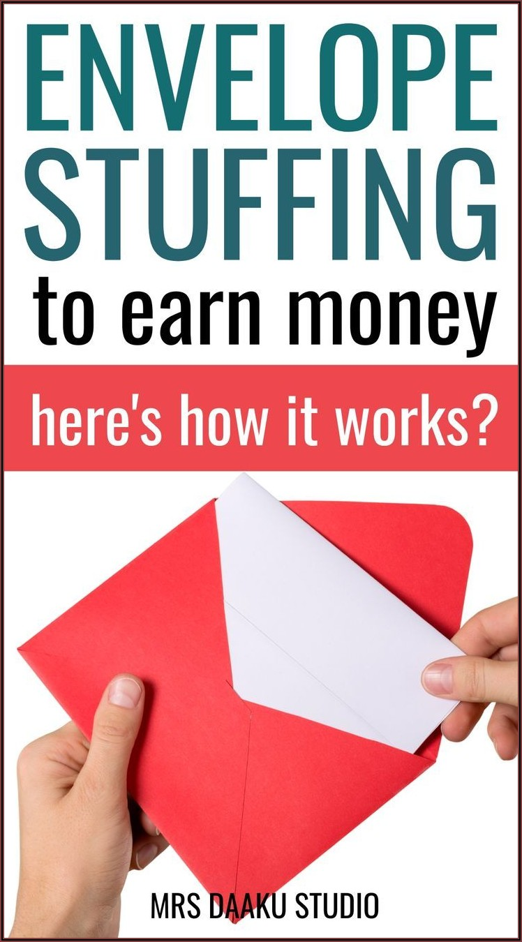 Legitimate Envelope Stuffing Jobs From Home
