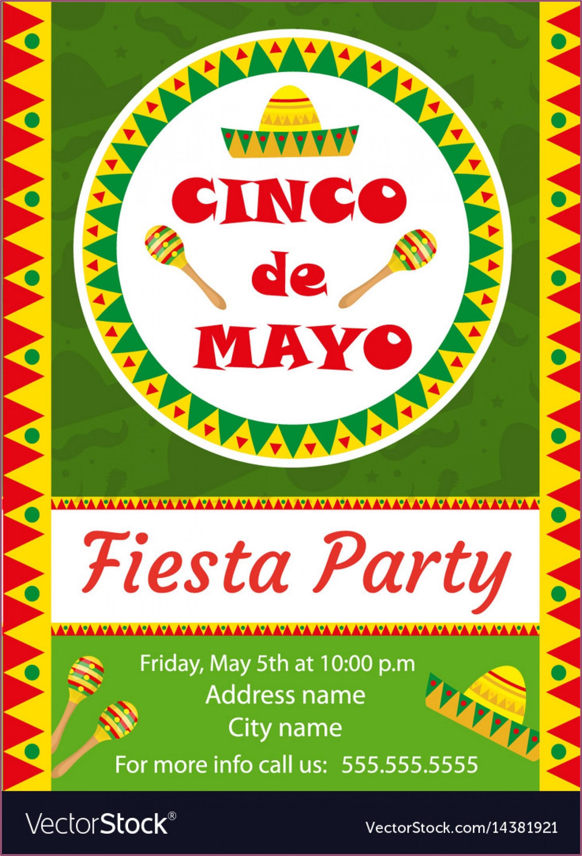 Mexican Birthday Invitations Templates Free