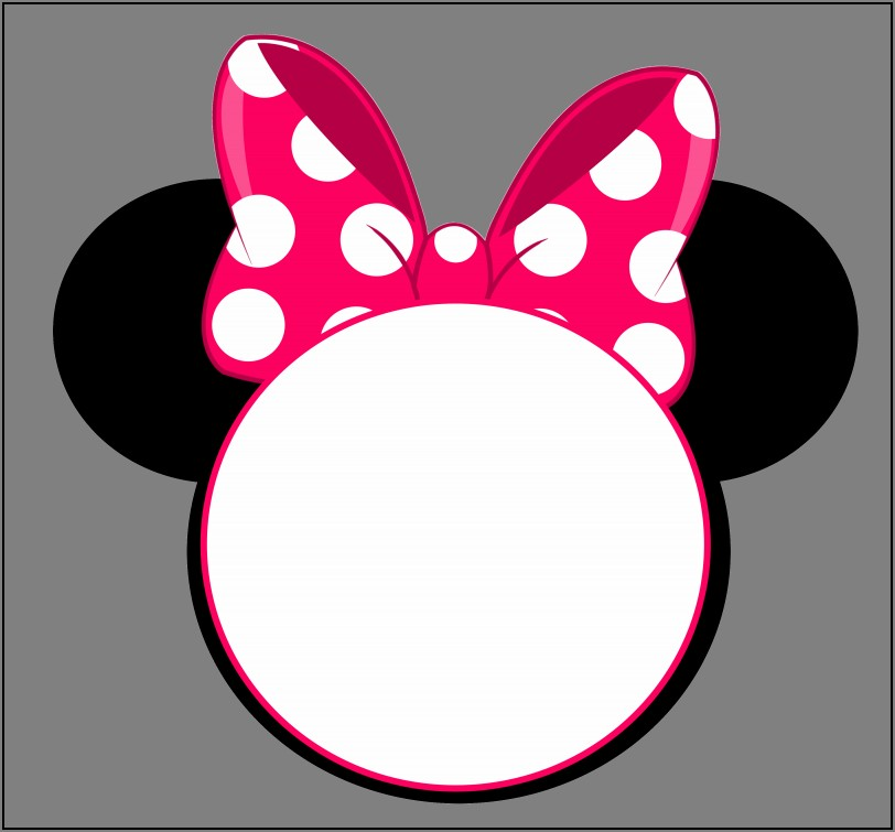Minnie Mouse 1st Birthday Invitations Template Free
