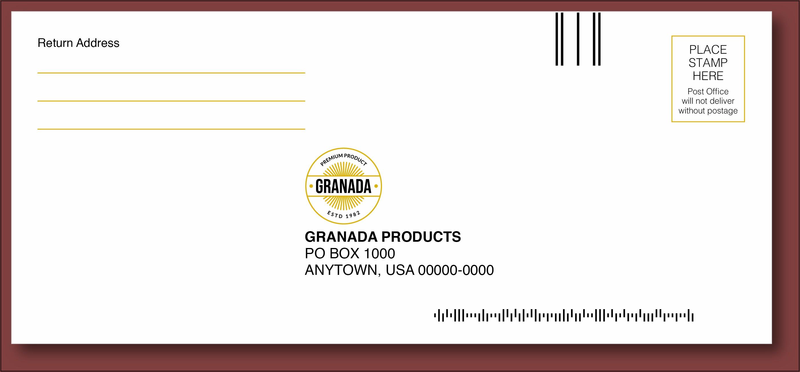Postage For 6x9 Envelope 2021