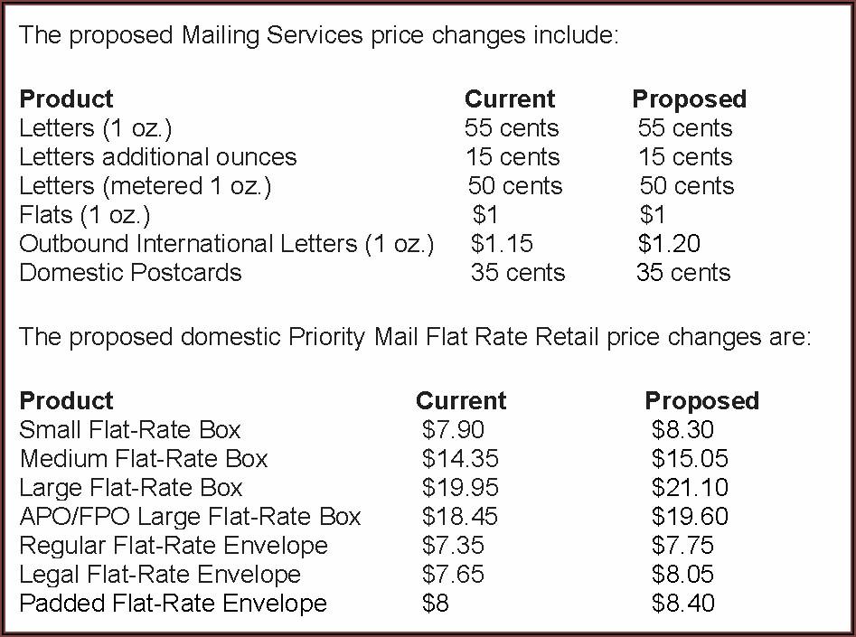 Postage For 9x12 Envelope 2021