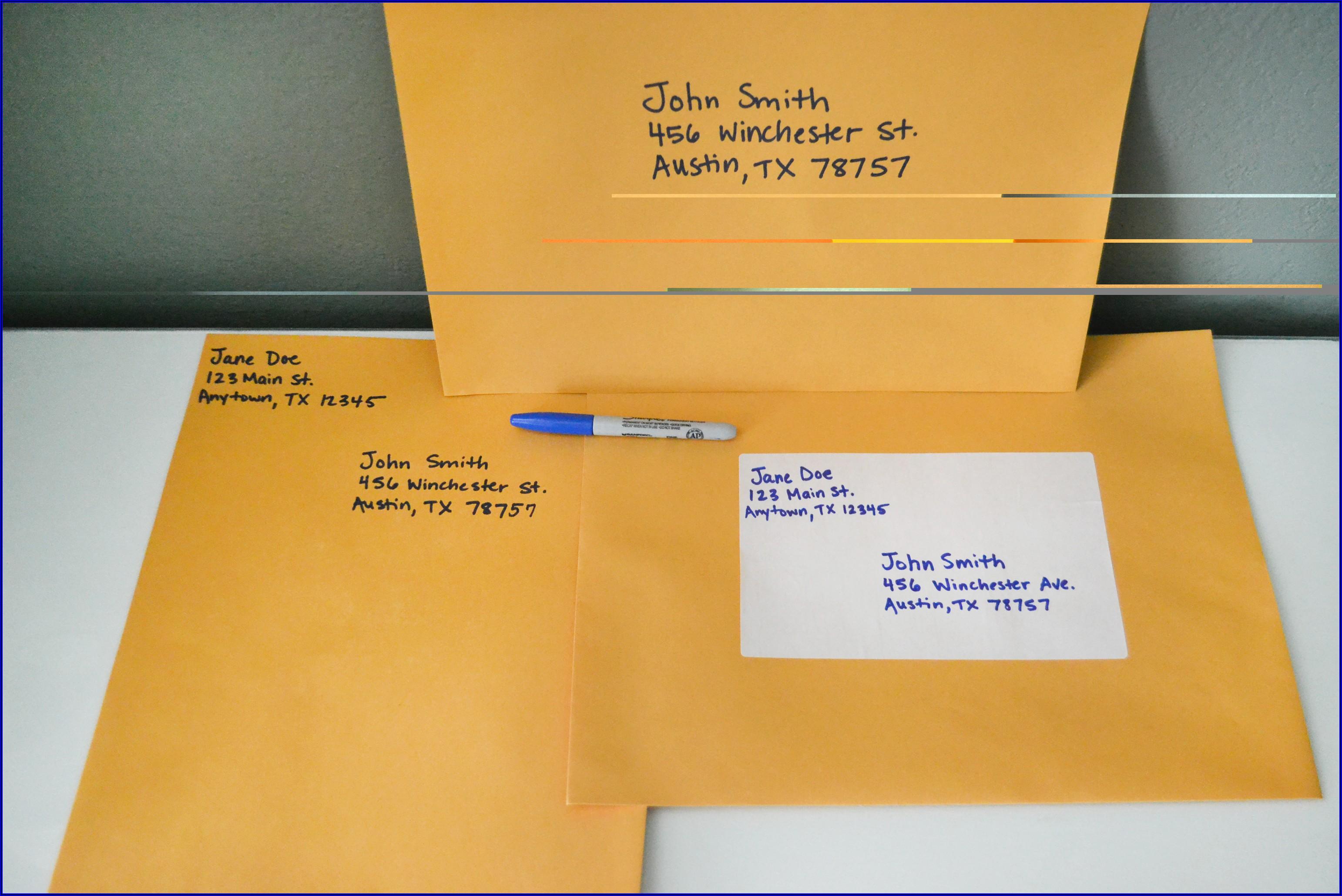 Postage For 9x12 Manila Envelope