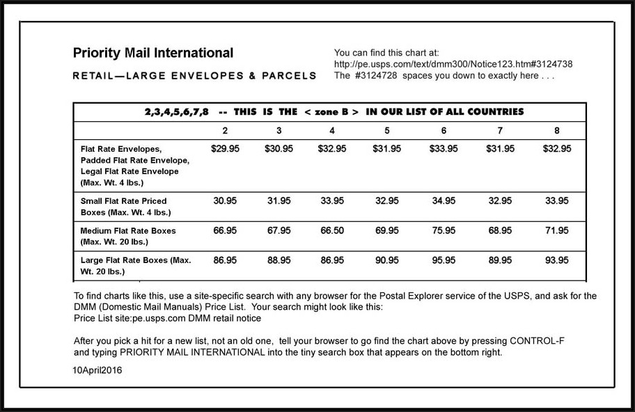 Postage Rate For 9x12 Manila Envelope