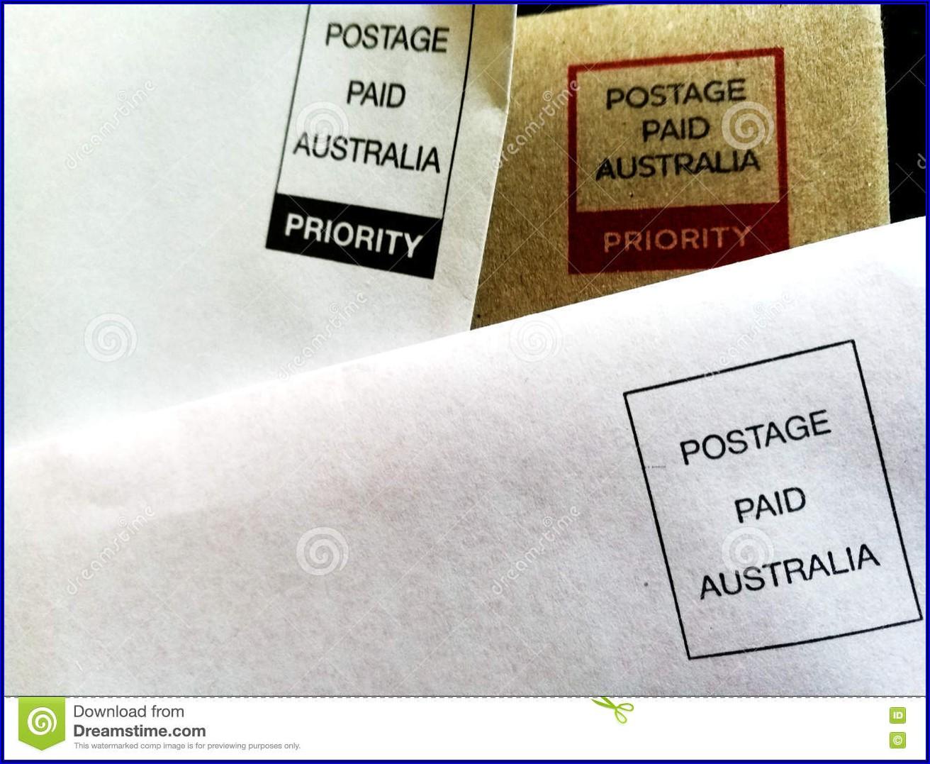 Prepaid Postage Envelopes Australia