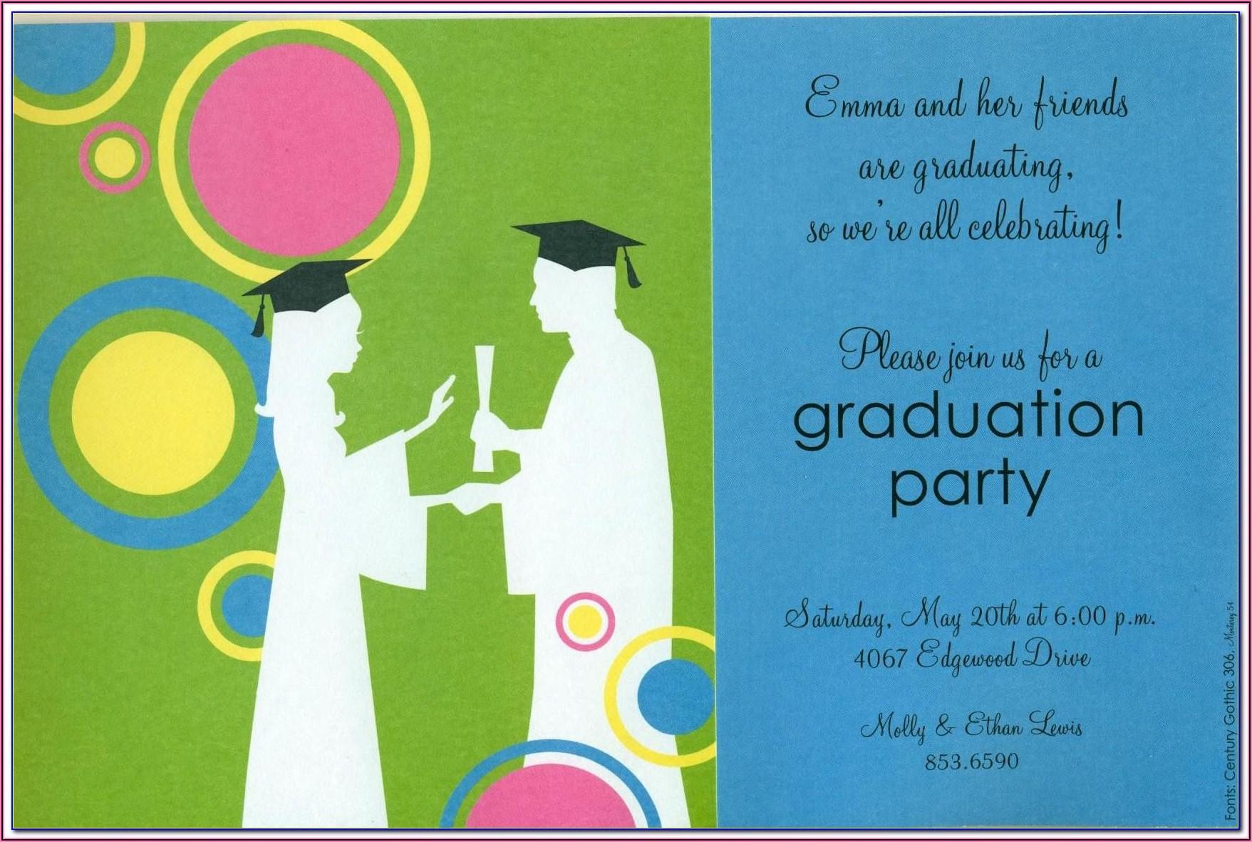 Preschool Graduation Invitation Templates Free Download