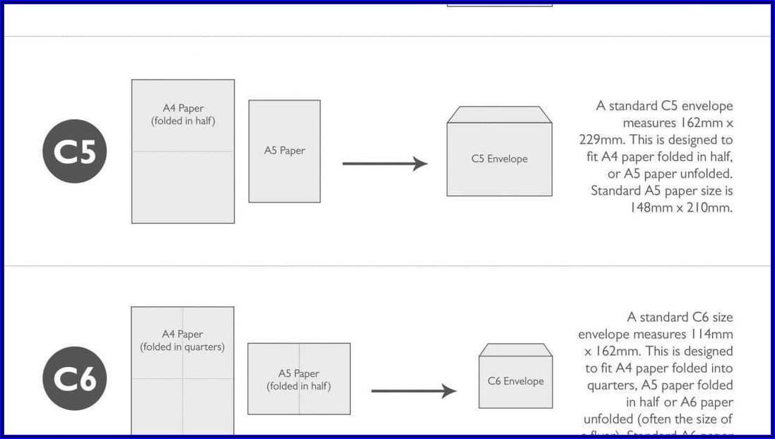 Printable Business Envelope Template