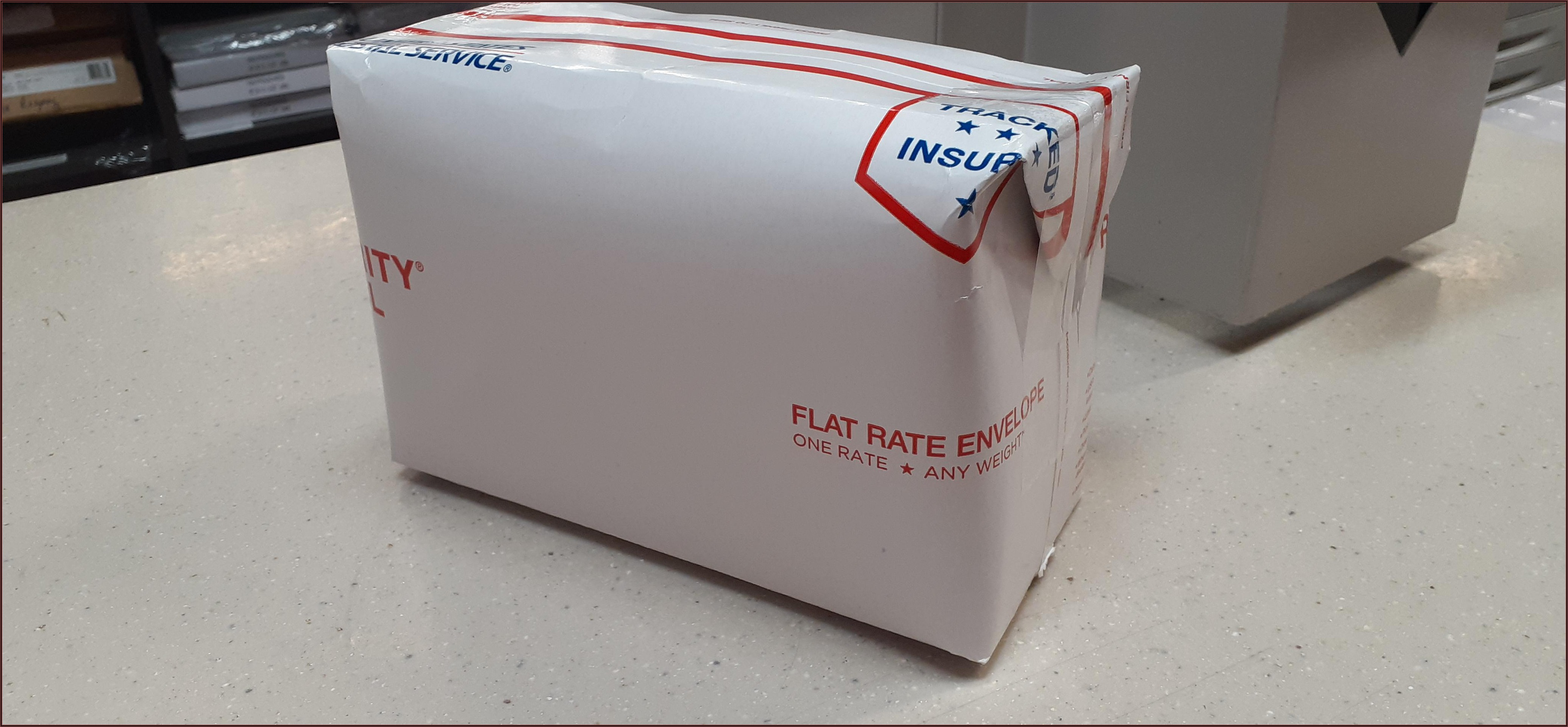 Priority Mail Envelope Flat Rate