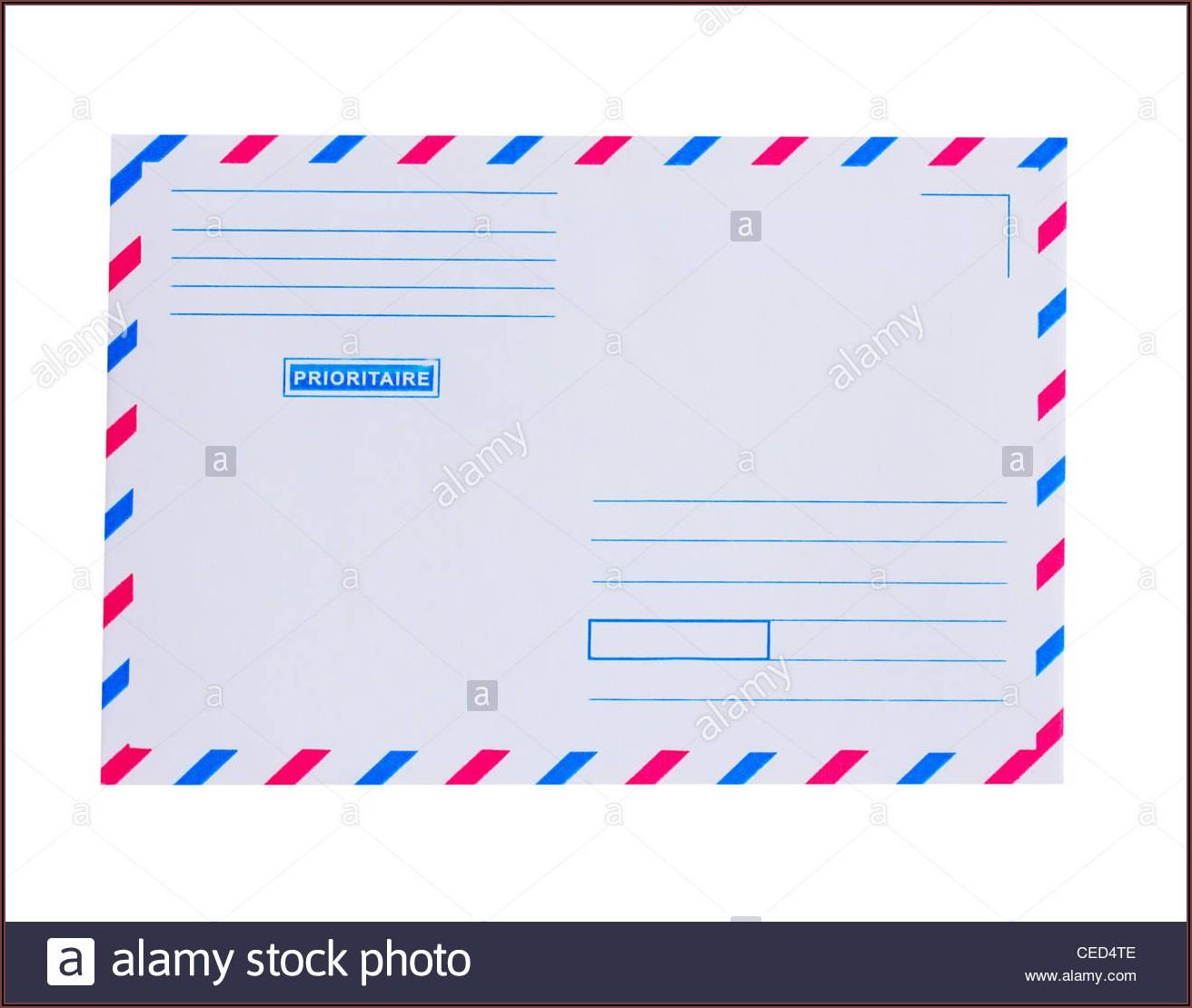 Priority Mail Envelope Image