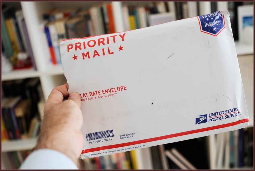 Priority Mail Flat Rate Envelope Image
