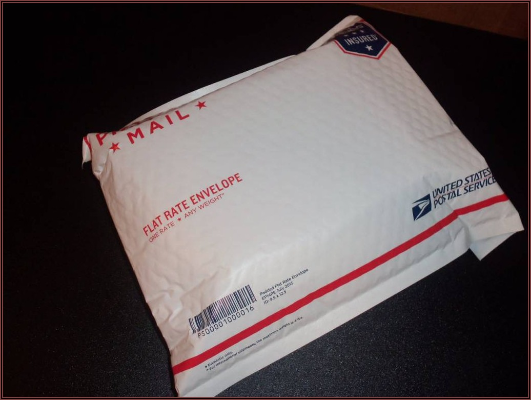Priority Mail Flat Rate Envelope Padded