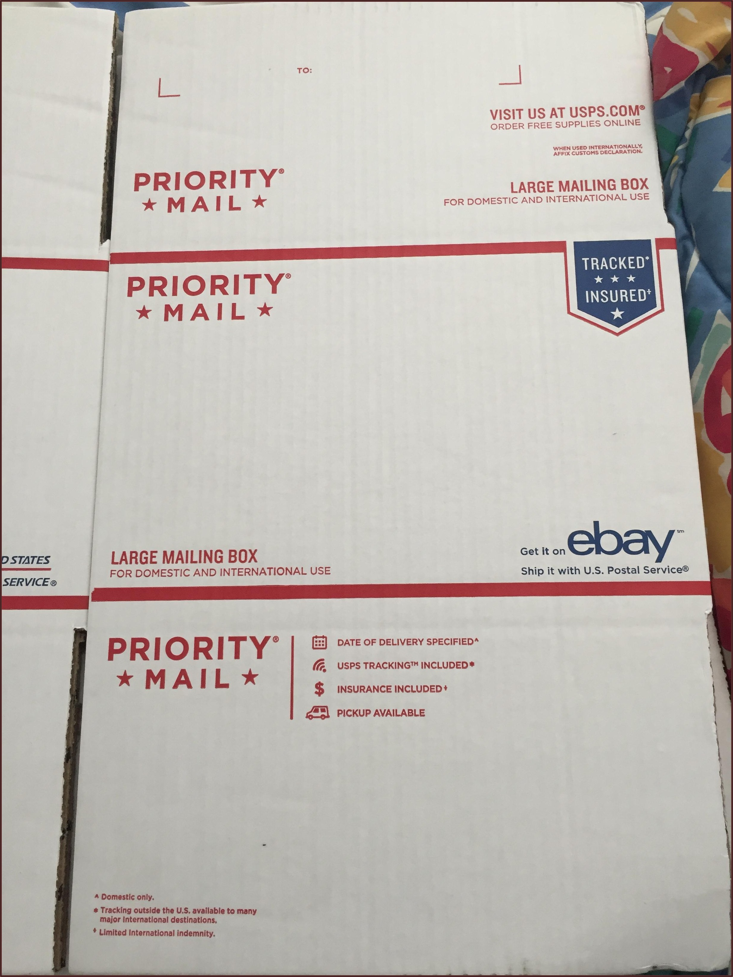 Priority Mail Large Envelope Size