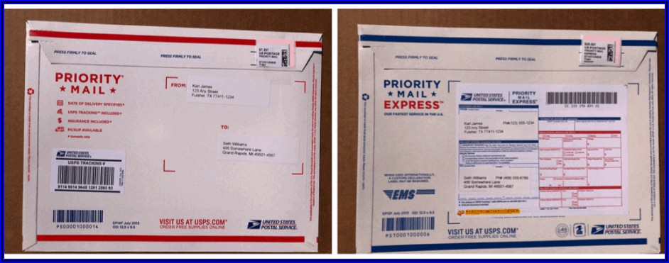 Priority Mail Mailing Envelope 11.625x15.125 Cost To Ship