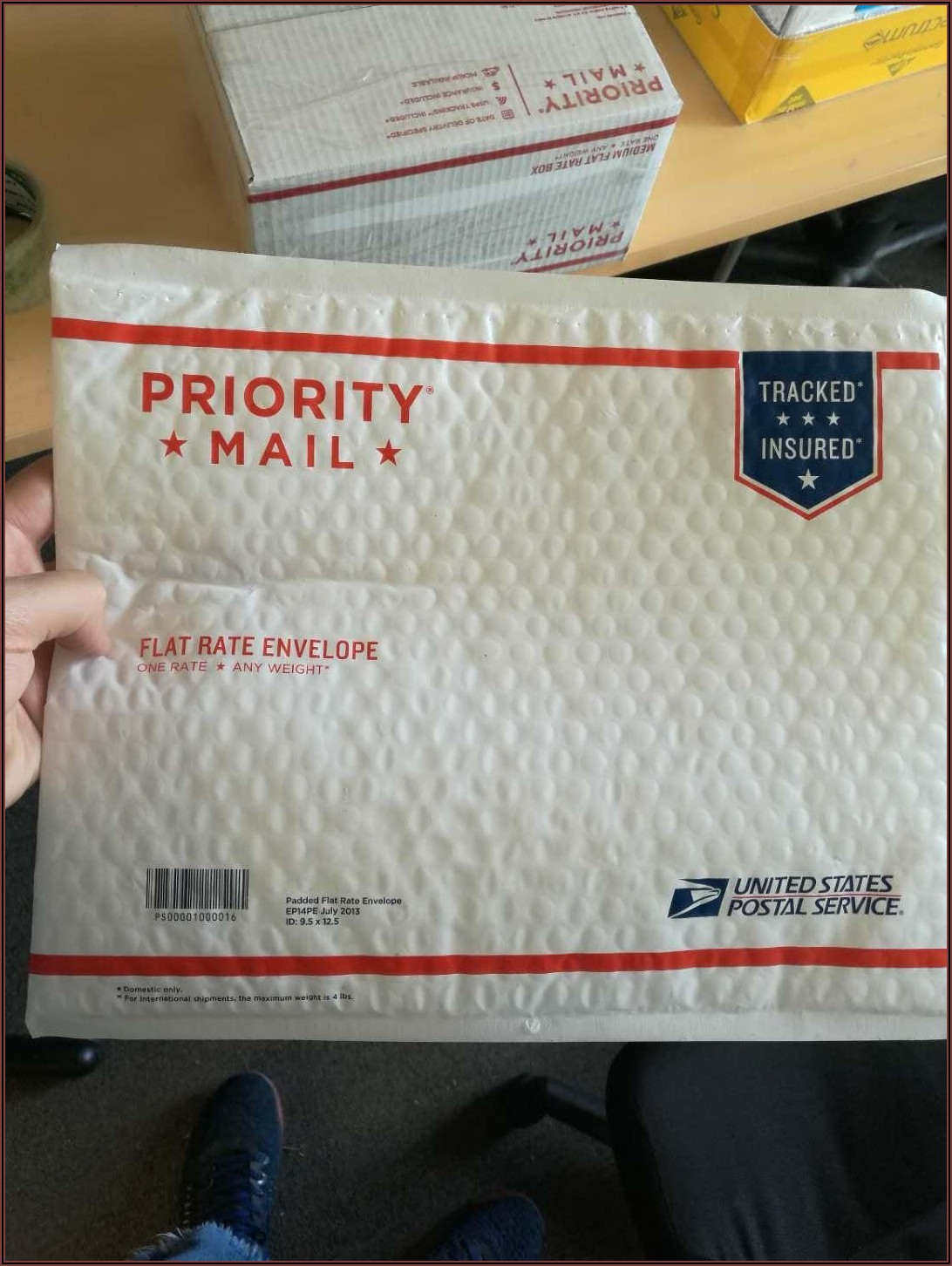 Priority Mail Padded Envelope Cost