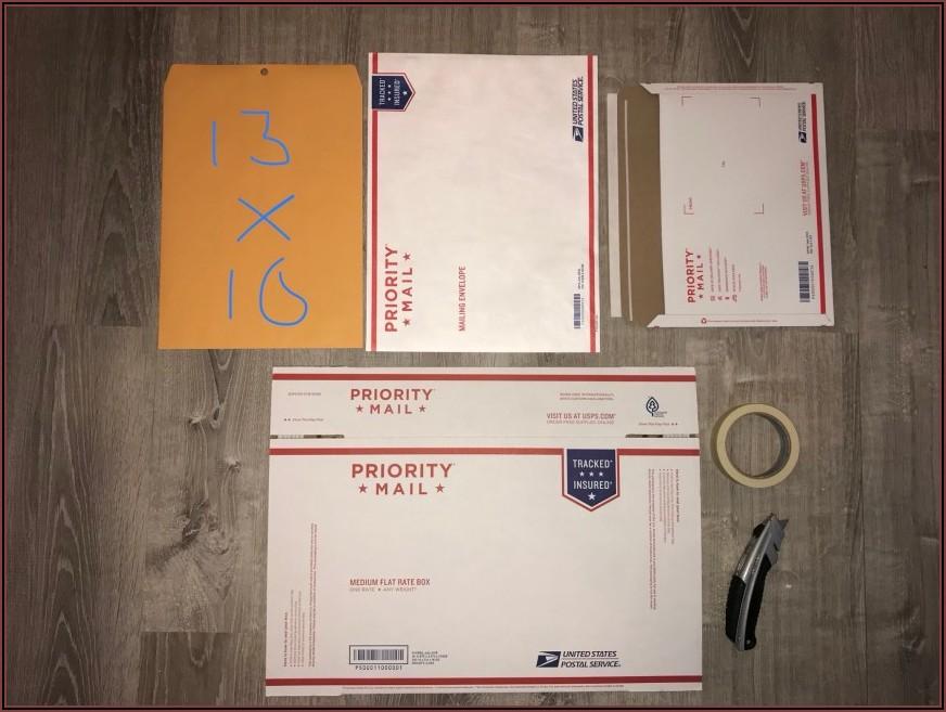 Priority Mail Tyvek Envelope Flat Rate