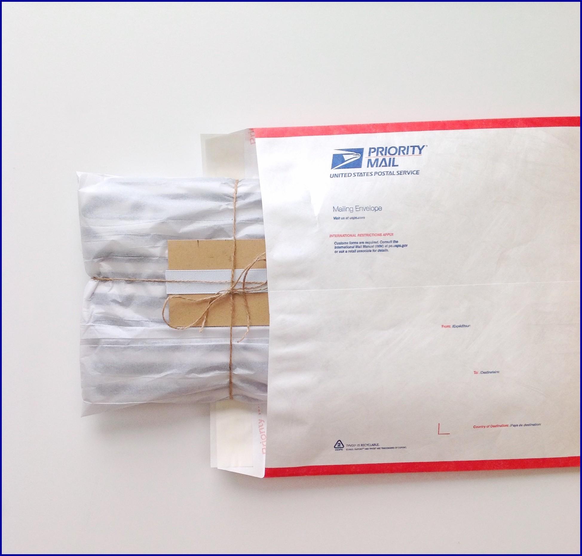 Priority Mail Tyvek Envelope Poshmark