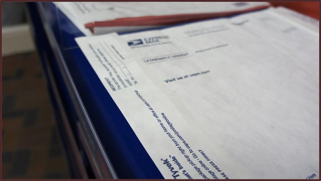 Priority Mail Tyvek Envelope Postage