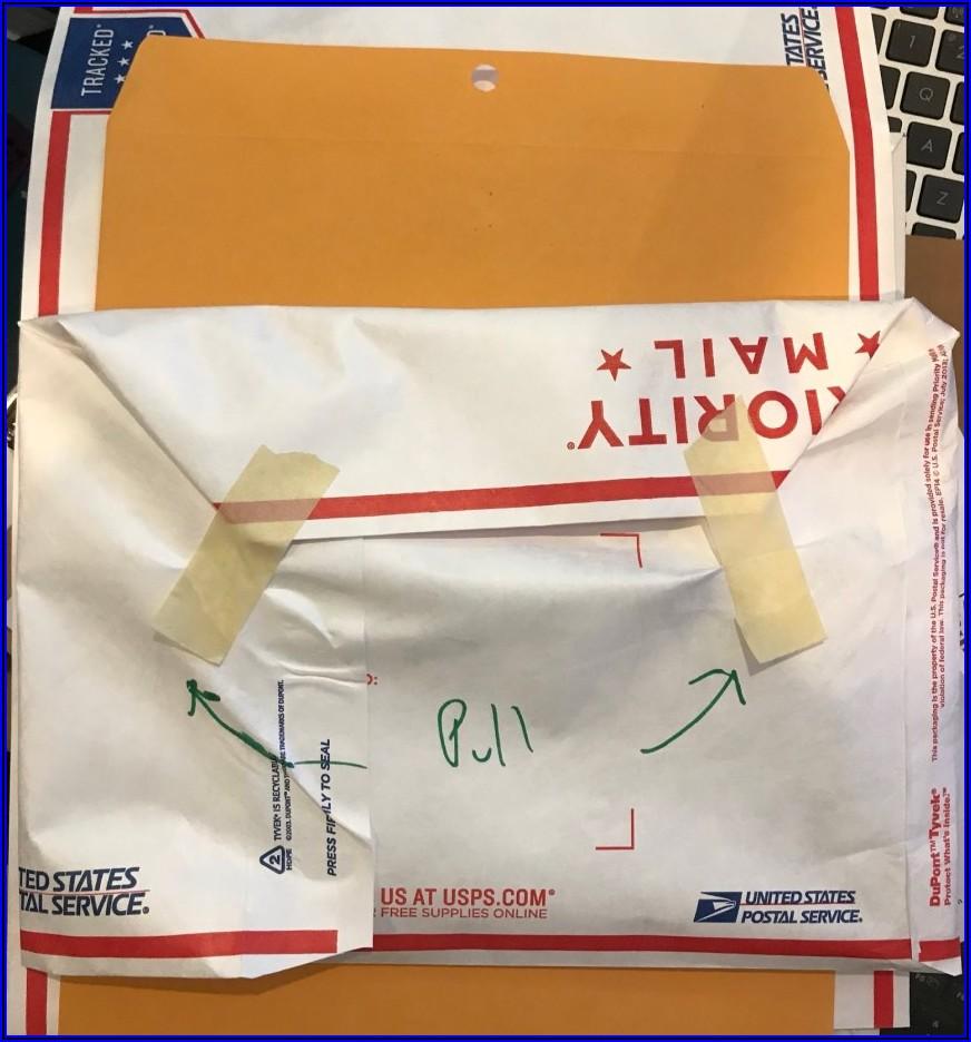 Priority Mail Tyvek Envelope Price