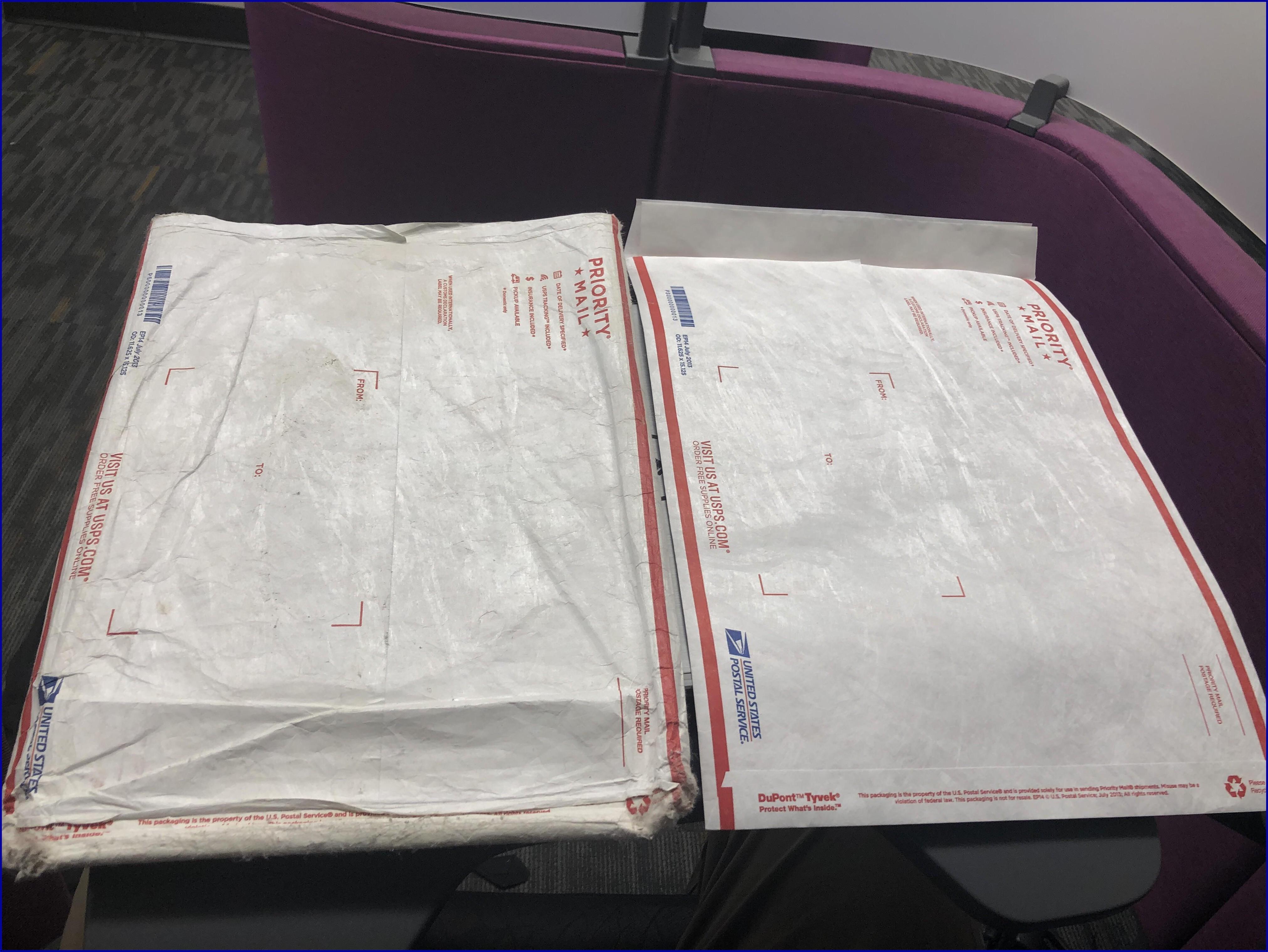 Priority Mail Tyvek Envelope
