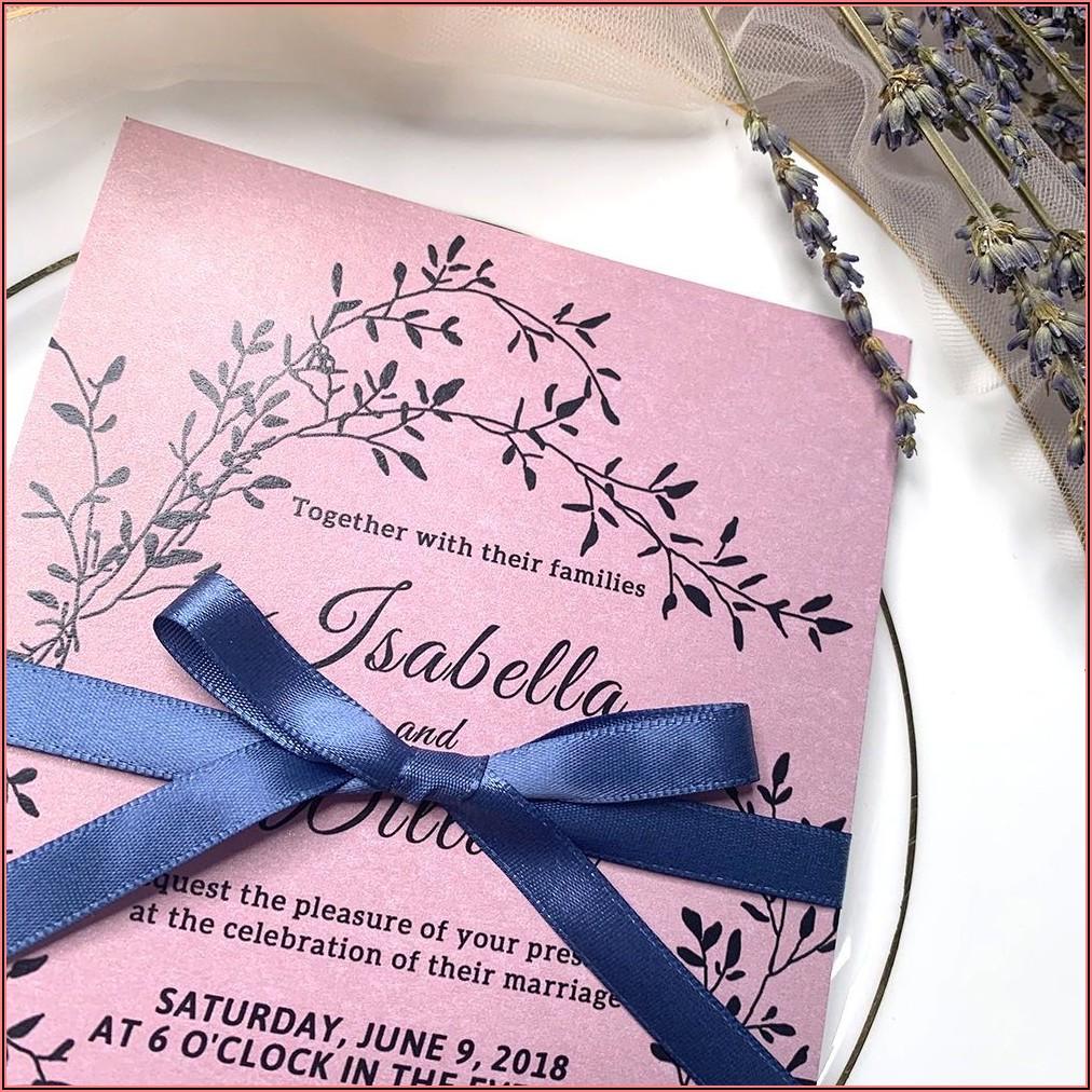 Rustic Elegant Wedding Invitations Cheap