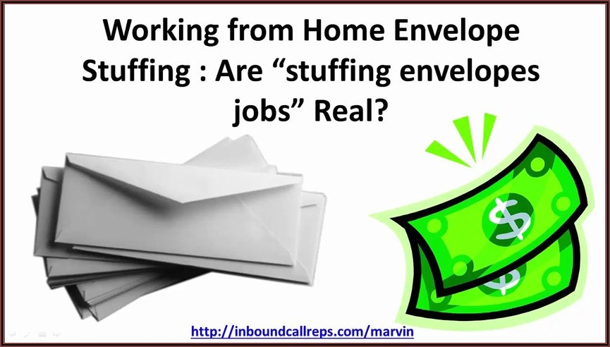 Stuffing Envelope Jobs Real