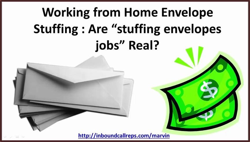 Stuffing Envelope Jobs Real