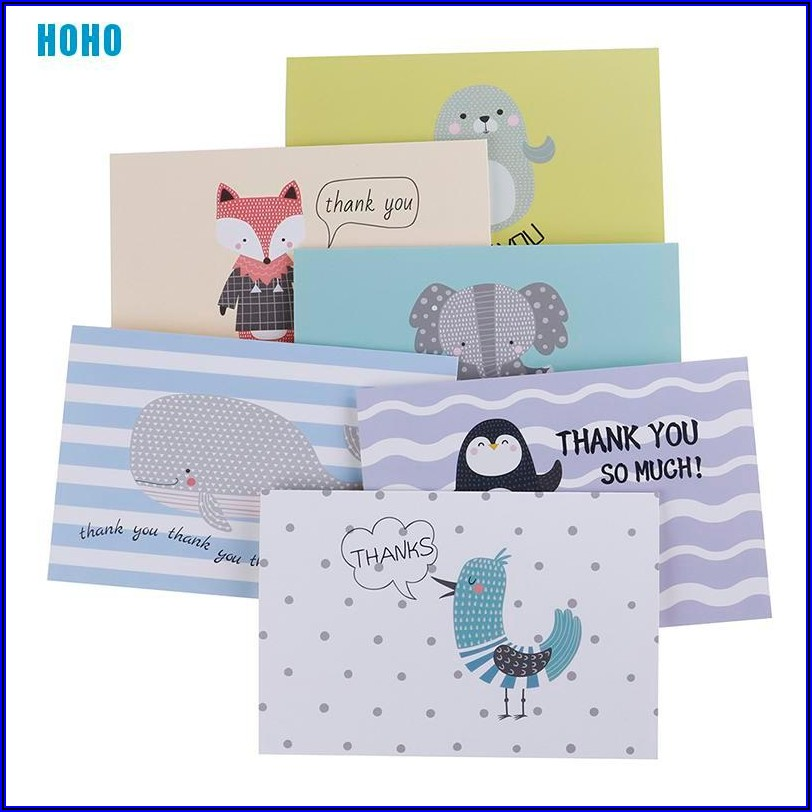 Thank You Note Envelopes
