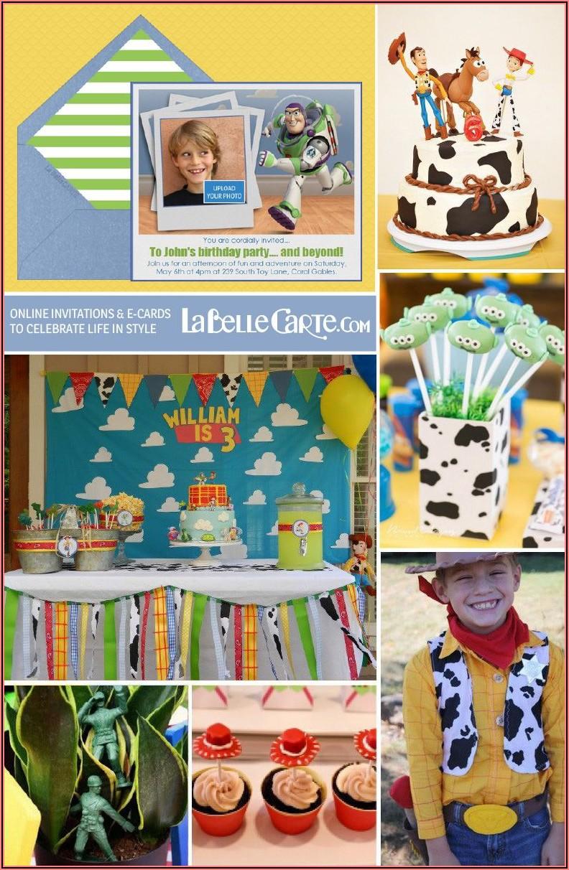 Toy Story Birthday Invitations Online