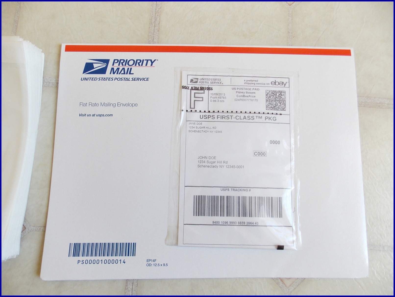 Ups Padded Envelope Rate