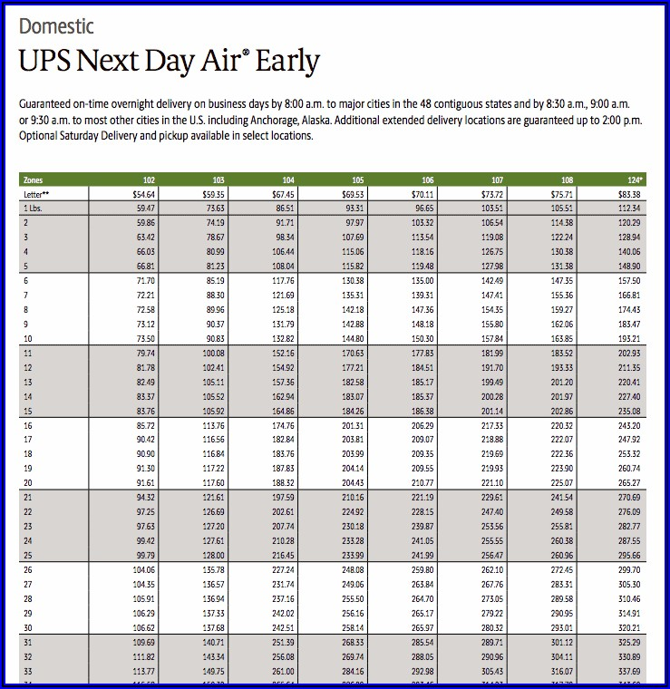Ups Padded Envelope Shipping Cost