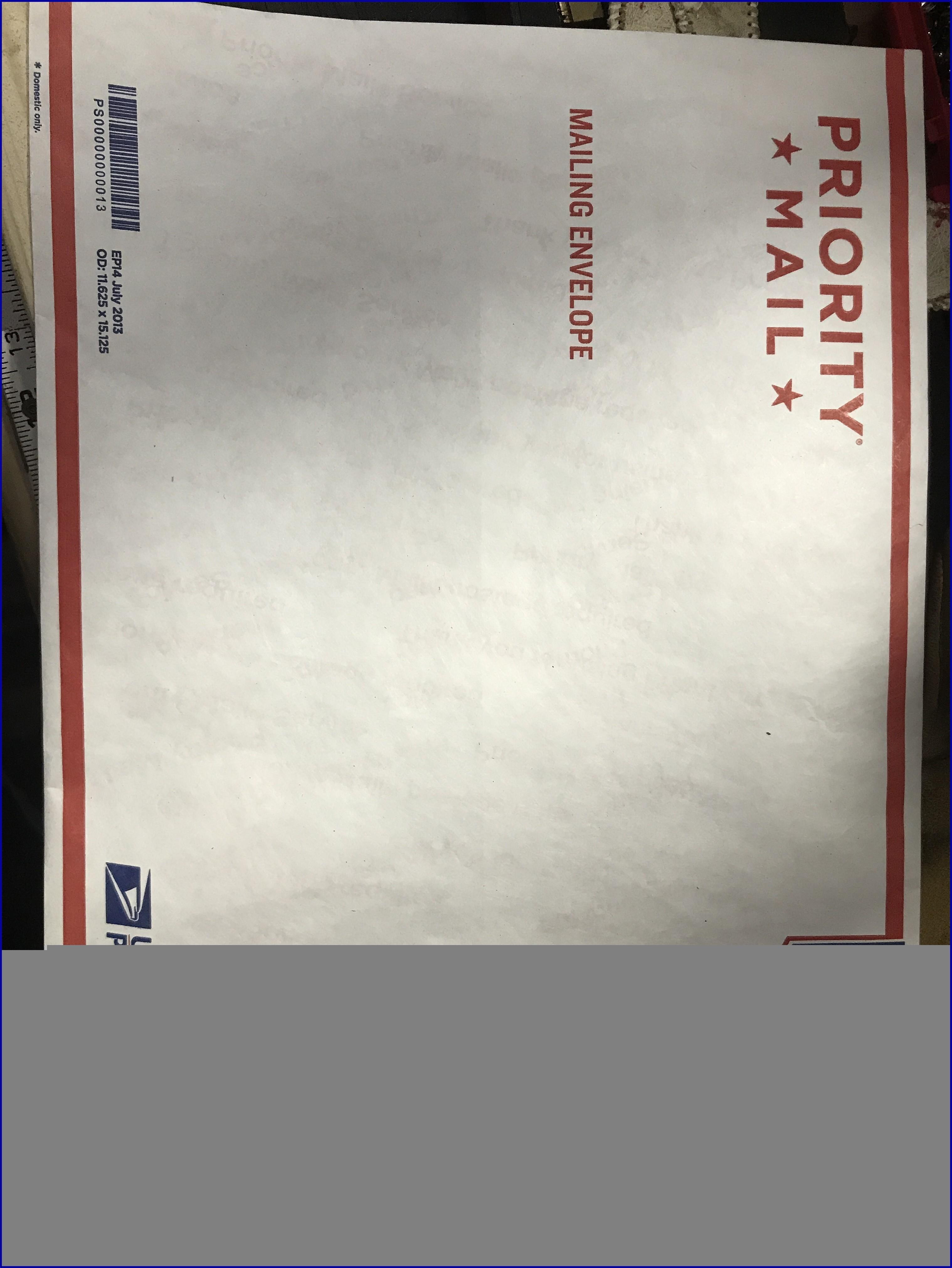 Usps Legal Flat Rate Envelope International